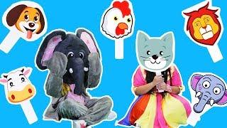 لولي وفلفول - لعبة الاقنعة - Loly & Falfool - Mask Game