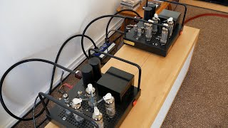 Visiting the house of a real audiophile and bringing the Willsenton R8 tube amp over to test there