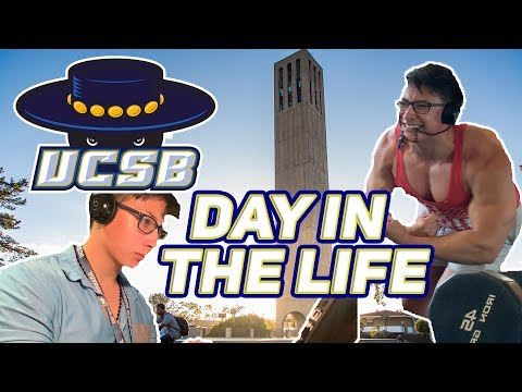 DAY IN THE LIFE OF A STUDENT BODYBUILDER | UCSB
