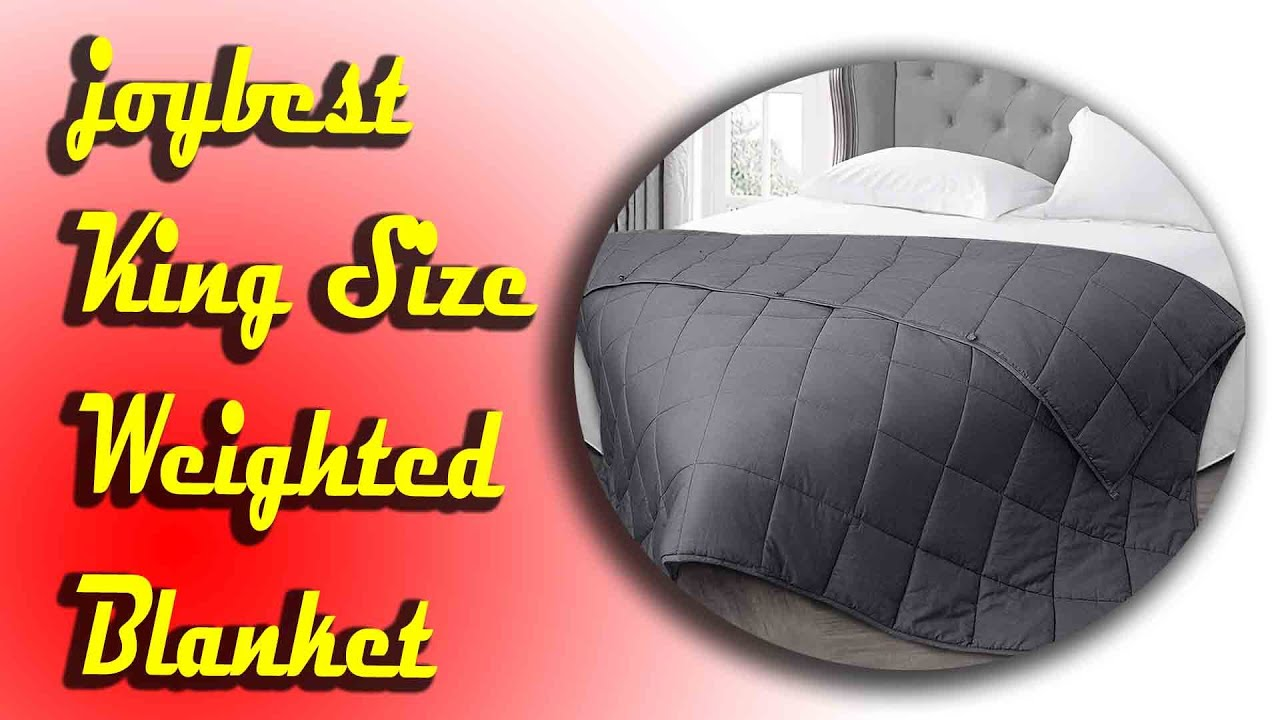 Best Buy joybest King Size Weighted Blanket 2020