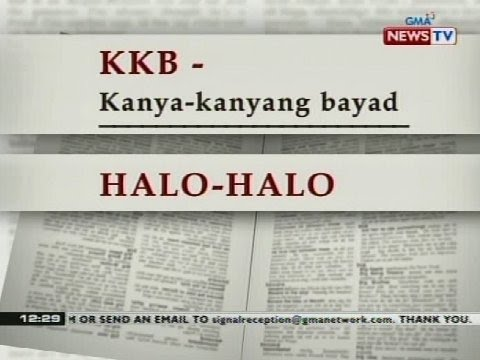 BT: Ilang Filipino words, napasama sa Oxford English Dictionary