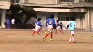 12/3/10 TM-2 U9 ファイター vs 井吹台SC(前半)