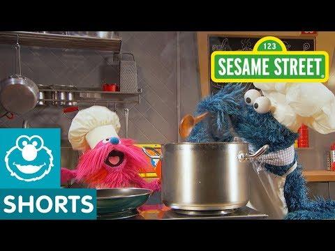 Sesame Street: Angel Hair Pasta | Cookie Monster's Foodie Truck