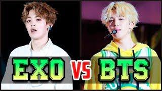 BTS vs EXO ♦ КТО КРУЧЕ?