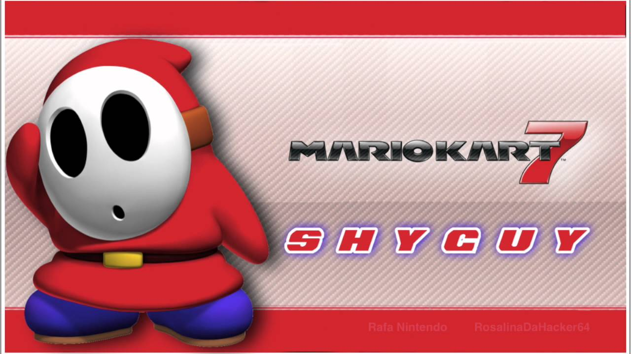 Mario Kart 7 [Shy Guy] Voice