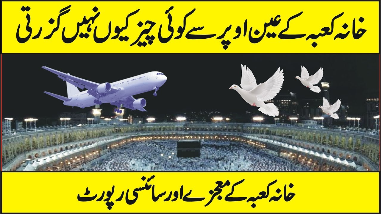 Image result for Why birds and plane do not fly over the kaaba