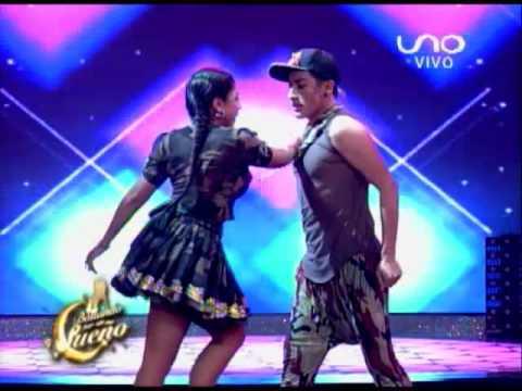 VIDEO: Bailando por un Sueño Bolivia: Stefany Aguilar y Brandon bailan Reggaeton