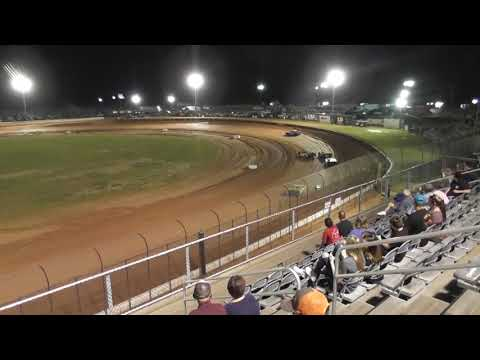 kid Racing @ Golden Isles Speedway Mack10 heat race Sept.22,2018
