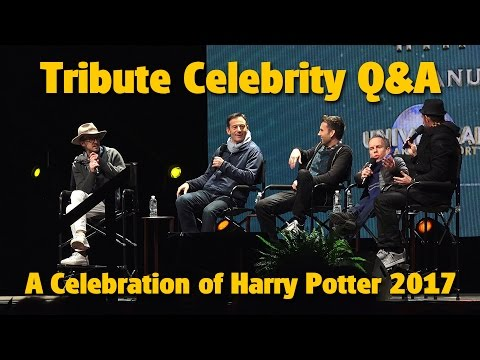 Evening Tribute Q&A with Potter Stars | A Celebration of Harry Potter 2017