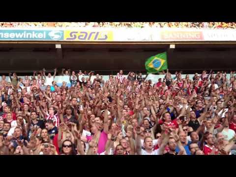 PSV Support: Heurelho Gomes keeper song