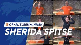 De beste Sherida-imitaties door de OranjeLeeuwinnen