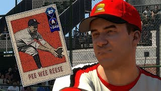 DIAMOND PEEWEE REESE DEBUT!! MLB THE SHOW 18 DIAMOND DYNASTY