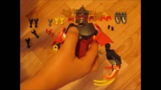 Самоделка ЛЕГО LEGO Огненный Элементаль HERO FACTORY BIONICLE