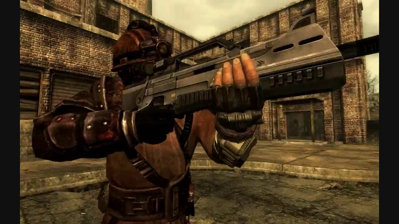 Fallout 3 - All Weapons Jamming Animations Showcase (All