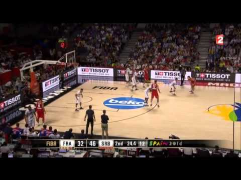 Image De Basket demi-finale coupe du monde de basket 2014 - france / serbie - youtube