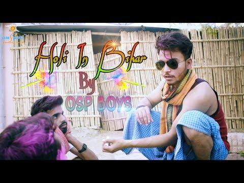 Types Of Holi In Bihar || Bihariyo Ka Badalta Hua Waqt || Om Shanti Production || Apna Time Aayega