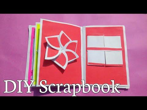 DIY Scrapbook tutorial|Part 3|How to make|Prachi art and craft