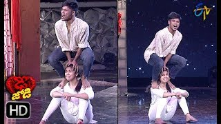 Subhash and Mansi Performance | Dhee Jodi | 28th November 2018 | ETV Telugu