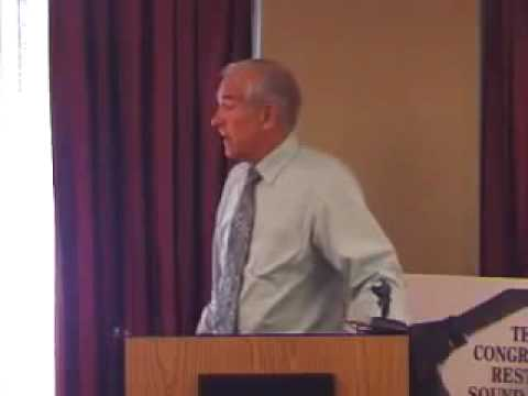 Ron Paul The Globalists want Paper Currency run by the UN and IMF 8-21-2009