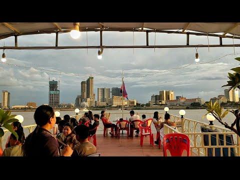 Mekong River, PhnomPenh Of Cambodia 🇰🇭