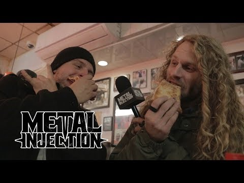 TOOTHGRINDER On A Mission To Find The BEST Pizza Slice in NYC | Metal Injection