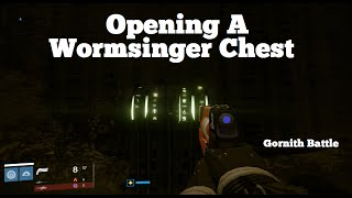 Destiny: The Taken King - Opening A Wormsinger Rune chest (Gornith Battle)