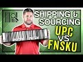 UPC vs FNSKU for Amazon FBA – Which One Do I Use?
