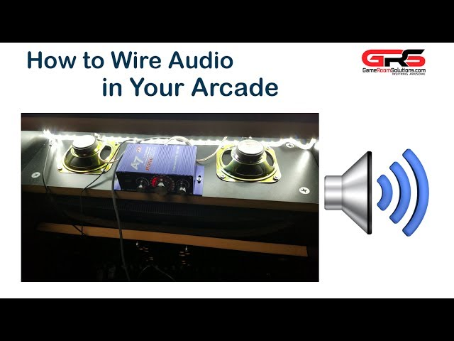 How to Wire Audio for Your Arcade