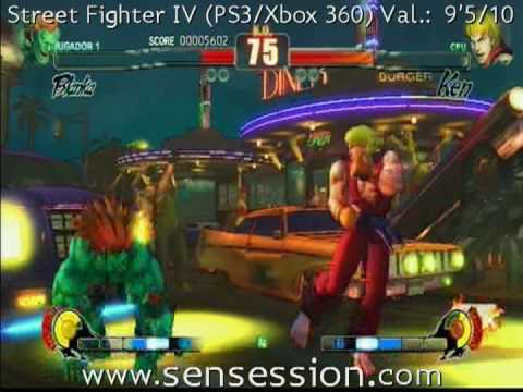 Street Fighter IV analisis review