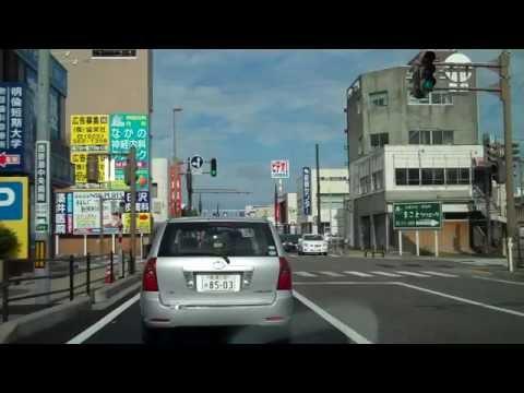 Driving around in Niigata City, Japan (part 1)