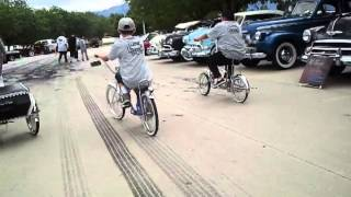 Lowrider Bike Cruising