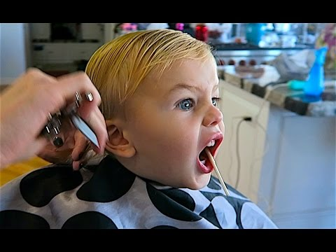 Thumbnail: BABY DAXTON'S FIRST HAIRCUT!