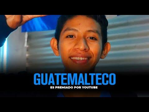 Joven guatemalteco recibe reconocimiento de YouTube