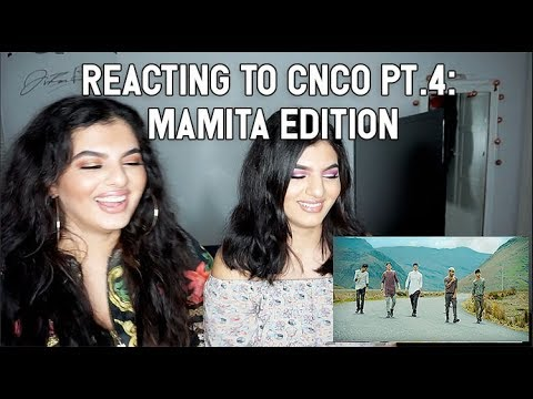 MY TWIN REACTS TO CNCO PT 4: MAMITA TOUR VIDEO AND MUSIC VIDEO