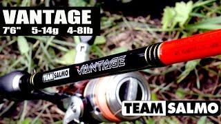 Обзор спиннинга Team Salmo Vantage.
