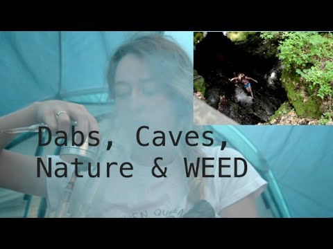 Last weekends camping trip~ stoney barefoot hike to some caves