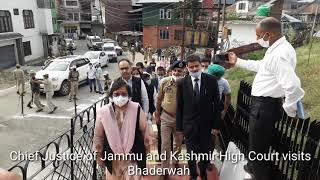 Chief Justice of Jammu and Kashmir High Court Geeta Mital Visits Bhaderwah