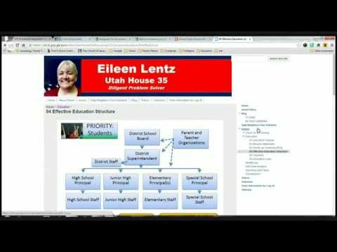 Virtual Open House with Eileen Lentz for Utah House 35