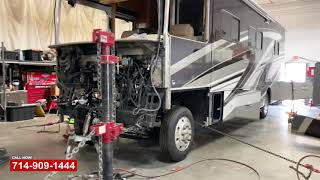 Tiffin Allegro Open Road Front Collision Repair