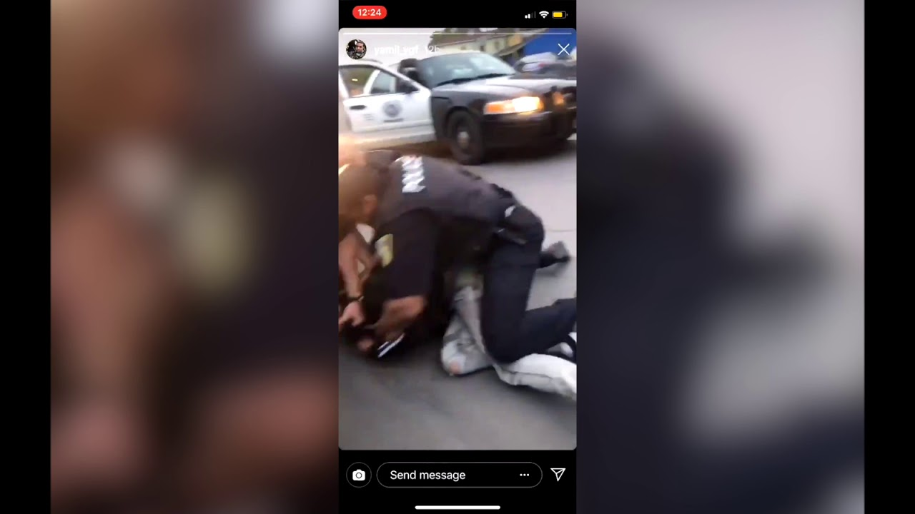 Syracuse cop drags man out of car for loud music