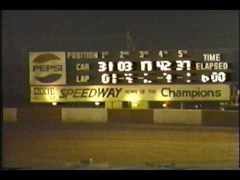 Dixie Speedway 10/12/1991!