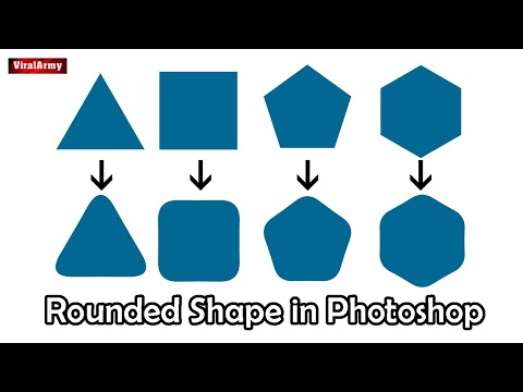 HOW TO MAKE ROUNDED CORNER SHAPES IN PHOTOSHOP