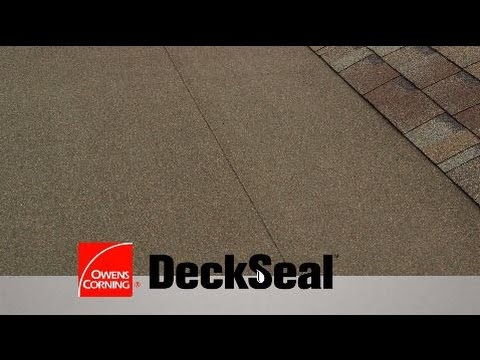 How To Install A Deckseal Low Slope Self Adhered Roofing
