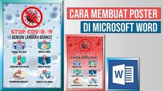 Cara Mudah Membuat Poster atau Pamflet di Microsoft Word