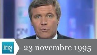20h France 2 du 23 novembre 1995 - Grève dans les transports - Archive INA