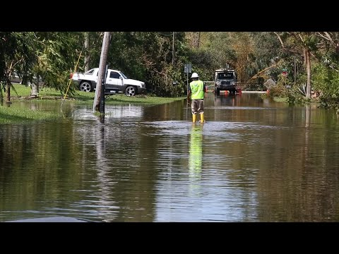 Flooding, down wires delay power restoration in South Florida