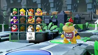Super Mario Party - 4 Players - Whomp's Domino Ruins