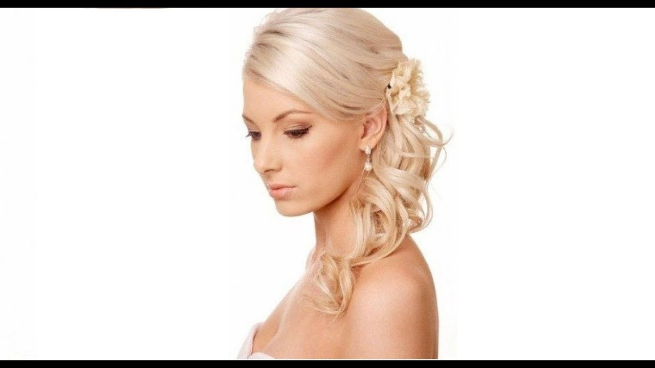 20 Wedding Hairstyles For Thin Hair - YouTube
