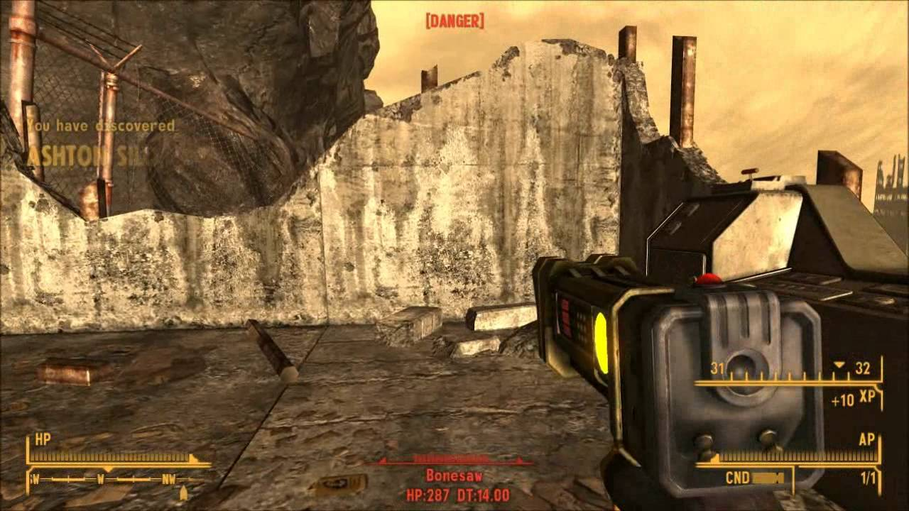 Fallout New Vegas: Lonesome Road - Trophy Guide & Road Map ...