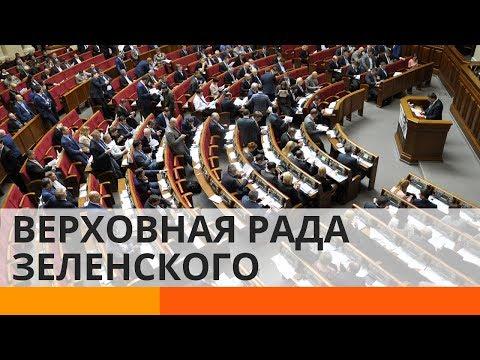 Верховная Рада Зеленского: